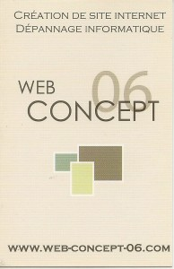 WEB CONCEPT CREATION SITE WB